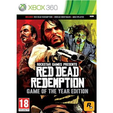 Red Dead Redemption (Game Of The Year) - Xbox 360, Xbox One (5026555255080)