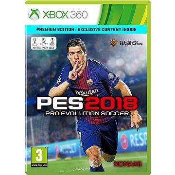Pro Evolution Soccer 2018 Premium Edition - Xbox 360 (4012927131015)