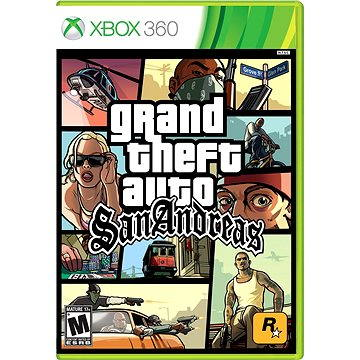 Grand Theft Auto San Andreas - Xbox 360 (5026555264976)