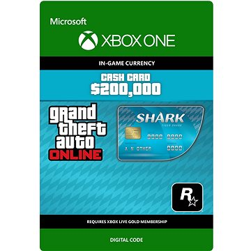 GTA V Tiger Shark Cash Card - Xbox One DIGITAL (7F6-00025)