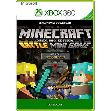 Minecraft: Xbox 360 Edition: Battle Map Pack Season Pass - Xbox 360 DIGITAL (7D5-00001)