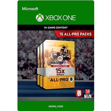 Madden 17: 15 All-Pro Pack Bundle DIGITAL (7D4-00141)