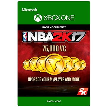 NBA 2K17: 75,000 VC DIGITAL (7F6-00078 )