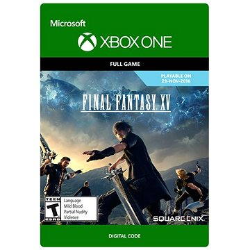 Final Fantasy XV: Digital Standard Edition - Xbox One DIGITAL (G3Q-00009)