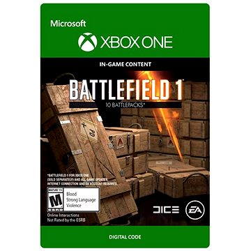 Battlefield 1: Battlepack X 3 - Xbox One DIGITAL (7F6-00084)