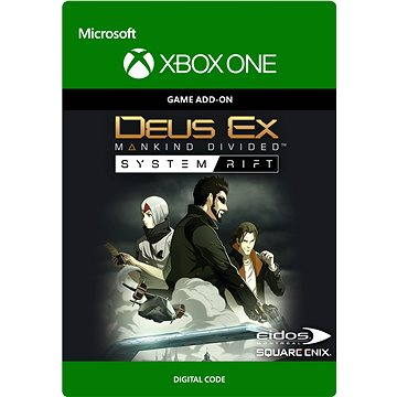 Deus Ex Mankind Divided: System Rift - Xbox One DIGITAL (G3Q-00241)