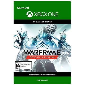 Warframe: 370 Platinum - Xbox One (7F6-00087)
