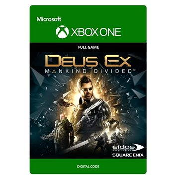 Deus Ex Mankind Divided: Standard Edition - Xbox One DIGITAL (G3Q-00231)
