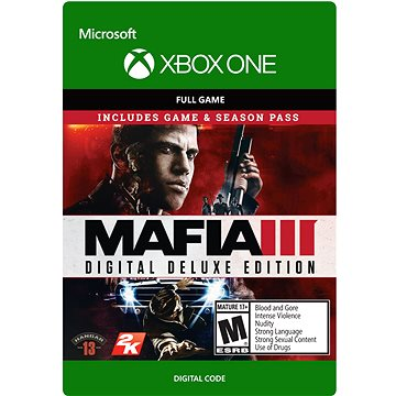 Mafia III: Digital Deluxe - Xbox One DIGITAL (G3Q-00194)
