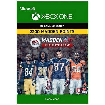 Madden NFL 17: MUT 2200 Madden Points Pack - Xbox One DIGITAL (7F6-00055)