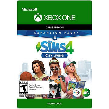 THE SIMS 4: (EP3) CITY LIVING - Xbox One Digital (7D4-00223)
