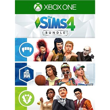 The SIMS 4: Extra Content Starter Bundle - Xbox One Digital (7D4-00246)