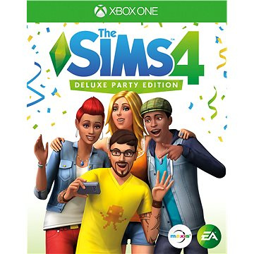 The SIMS 4: Deluxe Party Edition - Xbox One Digital (G3Q-00391)