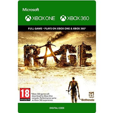 Rage - Xbox 360, Xbox One Digital (G3P-00105)