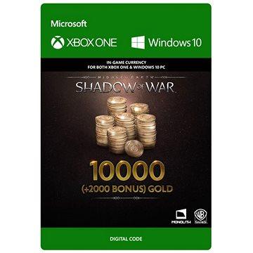 Middle-earth: Shadow of War – 10000 (+2000 Bonus) Gold - (Play Anywhere) DIGITAL (7F6-00169)