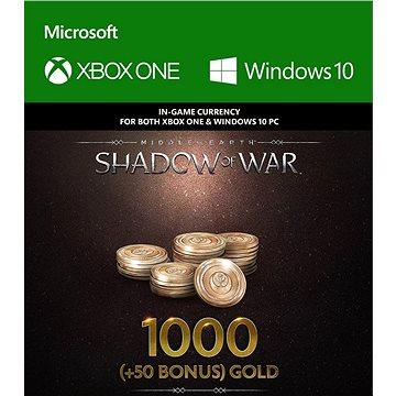 Middle-Earth: Shadow of War – 1000 (+50 Bonus) Gold - (Play Anywhere) DIGITAL (7F6-00162)