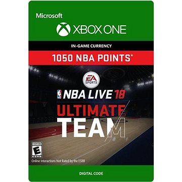 NBA LIVE 18: NBA UT 1050 Points Pack - Xbox One Digital (7F6-00136)