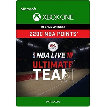 NBA LIVE 18: NBA UT 2200 Points Pack - Xbox One Digital (7F6-00138)