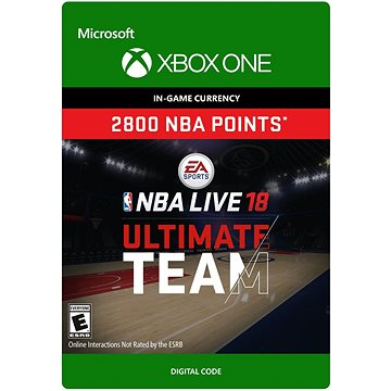 NBA LIVE 18: NBA UT 2800 Points Pack - Xbox One Digital (7F6-00156)