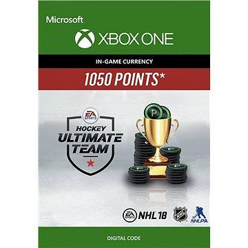 NHL 18 Ultimate Team NHL Points 1050 - Xbox One Digital (7F6-00143)