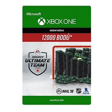 NHL 18 Ultimate Team NHL Points 12000 - Xbox One Digital (7F6-00144)