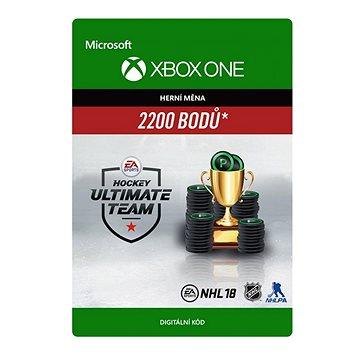 NHL 18 Ultimate Team NHL Points 2200 - Xbox One Digital (7F6-00145)
