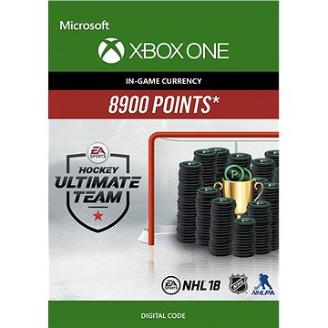 NHL 18 Ultimate Team NHL Points 8900 - Xbox One Digital (7F6-00149)