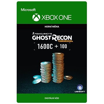 Tom Clancys Ghost Recon Wildlands Currency pack 1700 GR credits - Xbox One Digital (7F6-00111)