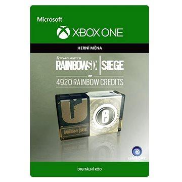 Tom Clancys Rainbow Six Siege Currency pack 4920 Rainbow credits - Xbox One Digital (7F6-00107)