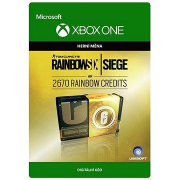 Tom Clancys Rainbow Six Siege Currency pack 2670 Rainbow credits - Xbox One Digital (7F6-00101)