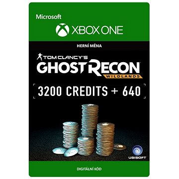 Tom Clancys Ghost Recon Wildlands: Currency pack 3840 GR credits - Xbox One Digital (7F6-00103)