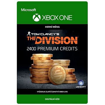 Tom Clancys The Division: Currency pack 2400 Premium Credits - Xbox One Digital (7F6-00104)