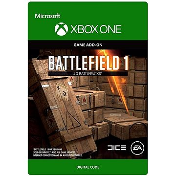 Battlefield 1: Battlepack X 40 - Xbox One Digital (7F6-00086)