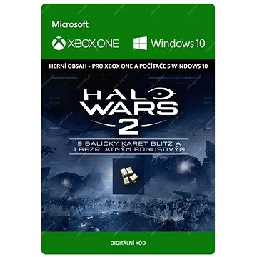 Halo Wars 2: 10 Blitz Packs - (Play Anywhere) DIGITAL (7F6-00090)