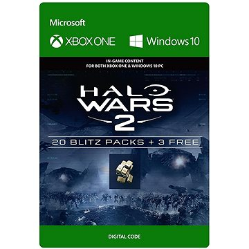 Halo Wars 2: 23 Blitz Packs - (Play Anywhere) DIGITAL (7F6-00091)