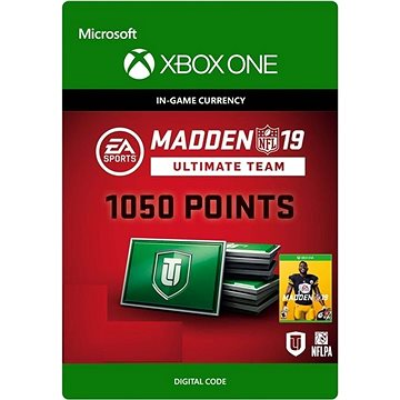Madden NFL 19: MUT 1050 Madden Points Pack - Xbox One DIGITAL (7F6-00185)
