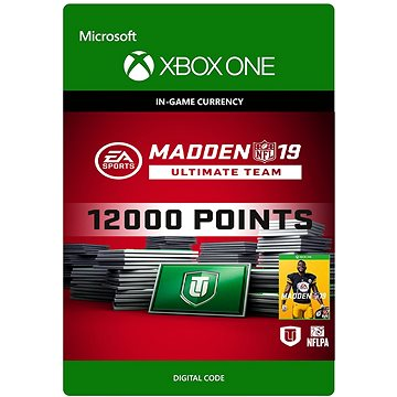 Madden NFL 19: MUT 12000 Madden Points Pack - Xbox One DIGITAL (7F6-00186)