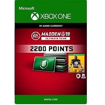 Madden NFL 19: MUT 2200 Madden Points Pack - Xbox One DIGITAL (7F6-00187)