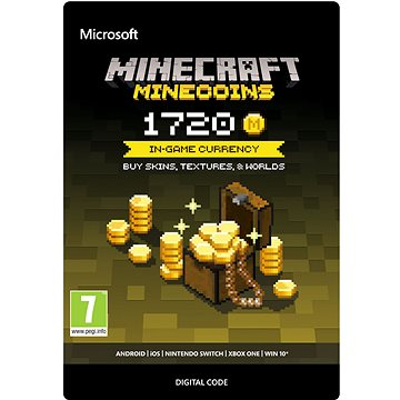 Minecraft: Minecoins Pack: 1720 Coins - Xbox One DIGITAL (7LM-00019)