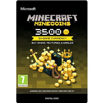 Minecraft: Minecoins Pack: 3500 Coins - Xbox One DIGITAL (7LM-00020)