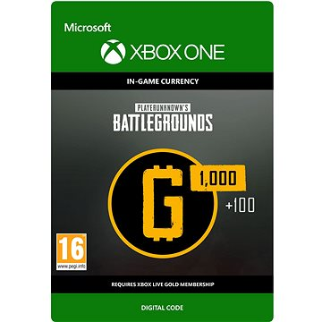 PLAYERUNKNOWN'S BATTLEGROUNDS 1,100 G-Coin - Xbox One DIGITAL (7LM-00022)