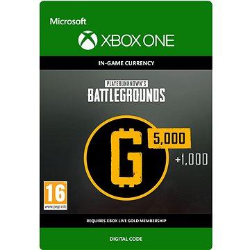 PLAYERUNKNOWN'S BATTLEGROUNDS 6,000 G-Coin - Xbox One DIGITAL (7LM-00024)