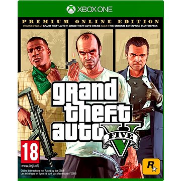 Grand Theft Auto V: Premium Online Edition - Xbox One DIGITAL (7D4-00321)