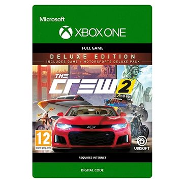 The Crew 2 Deluxe Edition - Xbox One Digital (G3Q-00441)