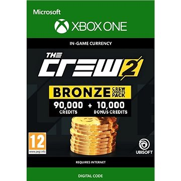 The Crew 2 Bronze Crew Credit Pack - Xbox One Digital (7F6-00181)