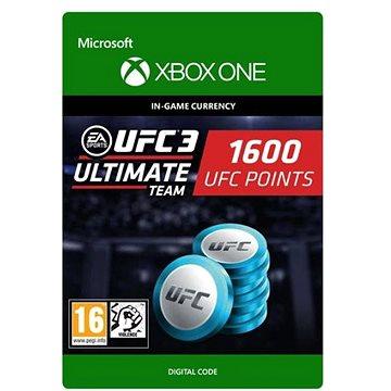 UFC 3: 1600 UFC Points - Xbox Digital (7F6-00175)