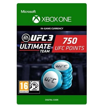 UFC 3: 750 UFC Points - Xbox Digital (7F6-00173)