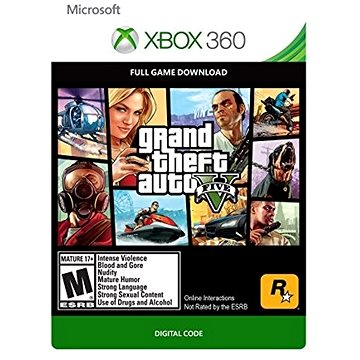 Grand Theft Auto V - Xbox 360 Digital (G3P-00003)