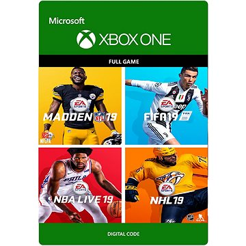 EA Sports 19 Bundle - Xbox One Digital (7D4-00341)