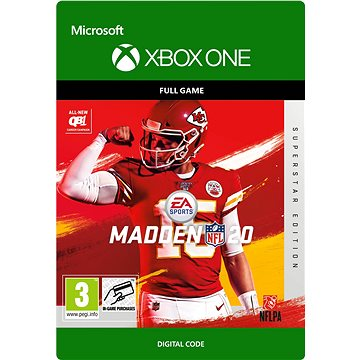 Madden NFL 20: Superstar Edition - Xbox Digital (G3Q-00756)